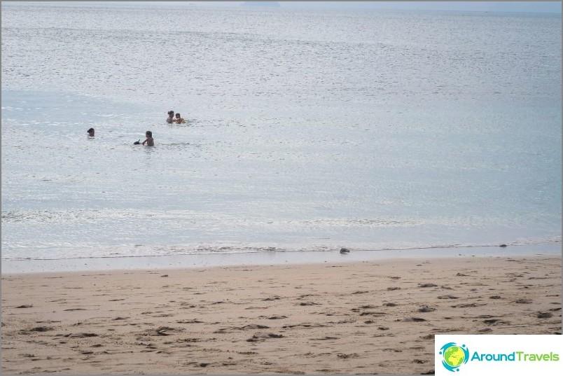 Lanta Secret Beach laskuveden aikaan