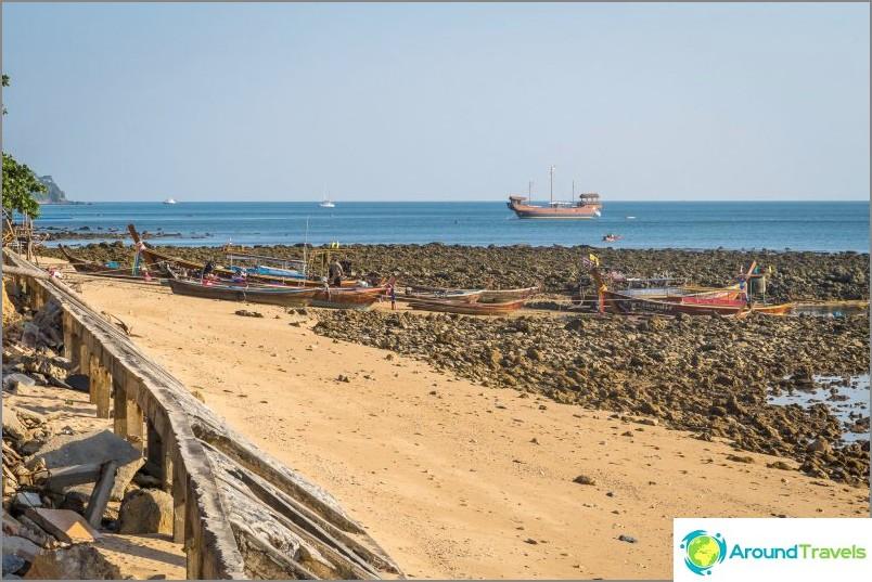Klong Toabin ranta Lanta - sekalaisia tunteita, osittainen näkymä