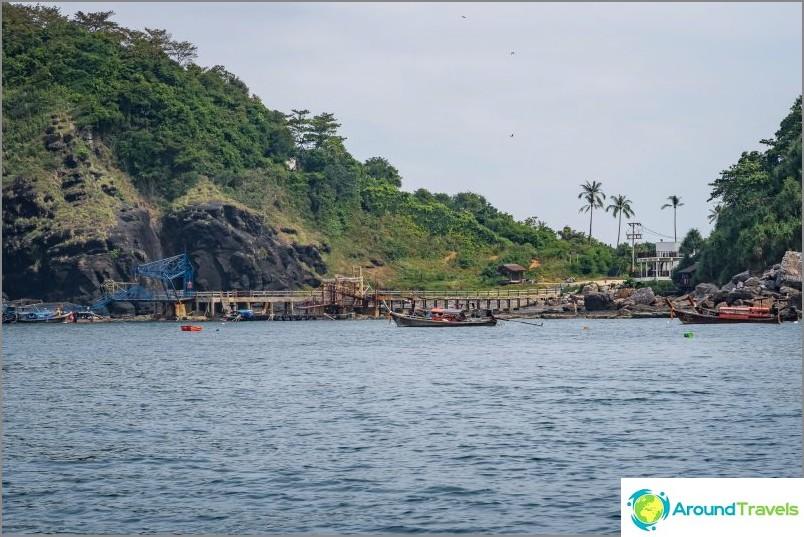 Laem Thongin ranta, Phi Phi Don -saari