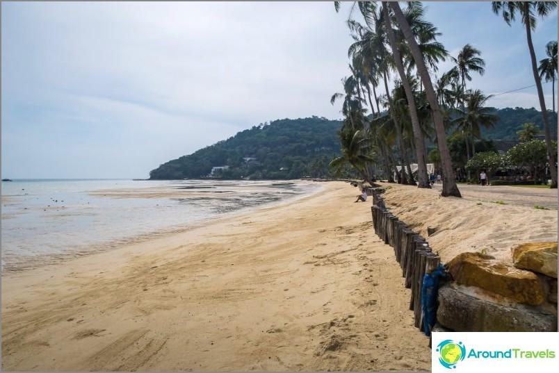 Lo Ba Kaon ranta on paras valinta pitkälle lomalle Phi Phi Donissa