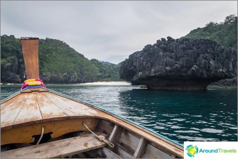 Nuin ranta Phi Phi Donissa - villi possu viidakossa