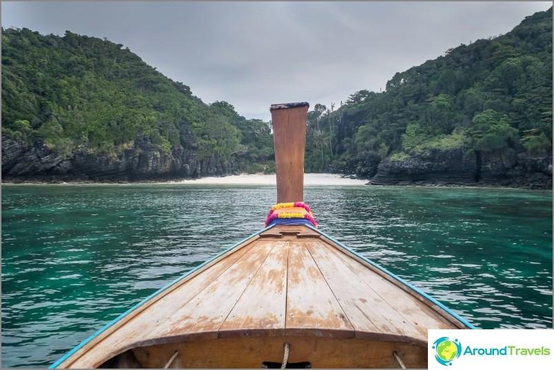 Nuin ranta, Phi Phi Don -saari