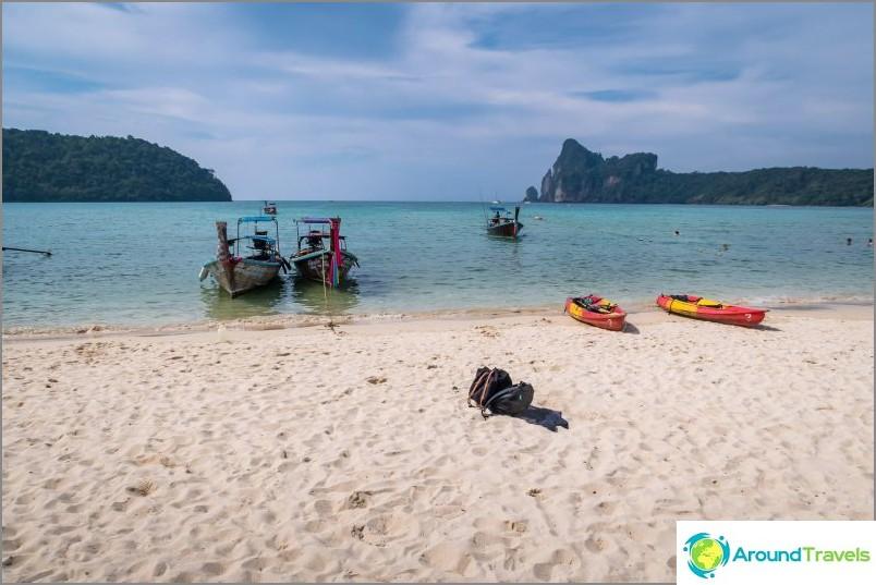Lo Dalam Beach, Phi Phi