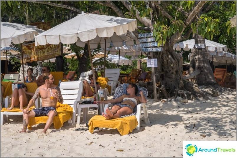Long Beach в Phi Phi Don - стандартен туристически плаж