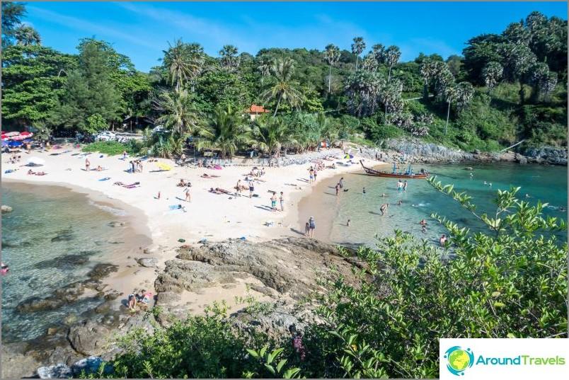 Yanuin ranta - yksinäinen Phuketin eteläpuolella