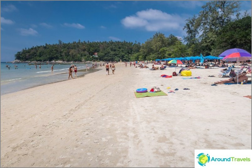 Kata Beach - rentouttavalle ja perhelomalle