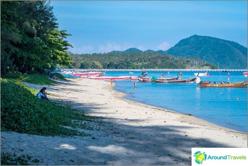 Rawai Beach - ei uimiseen, vaan talon vuokraamiseen