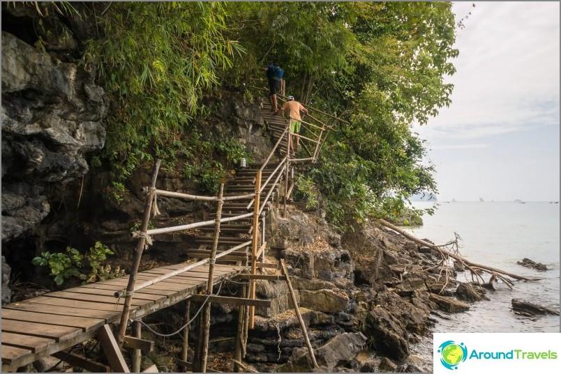 No, nousussa on jo bambukaiteita ja askelmia eri materiaaleista