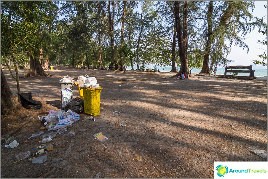 Nopparat Tharan ranta Krabi - Ao Nangin vähemmän turistinaapuri