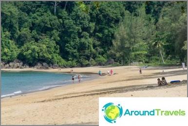 Khao Lak Beach - hyvä ranta, mutta vähän infrastruktuuria