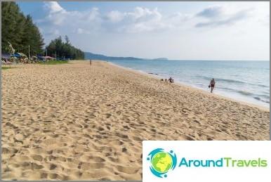 Плаж Khuk Khak - необитаем и без инфраструктура