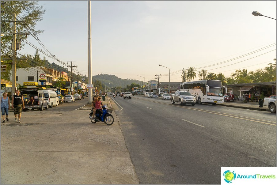 Магистрала срещу Bang Niang
