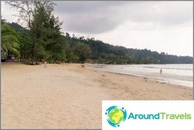 Плаж Нанг Тонг - най-популярният в Хао Лак