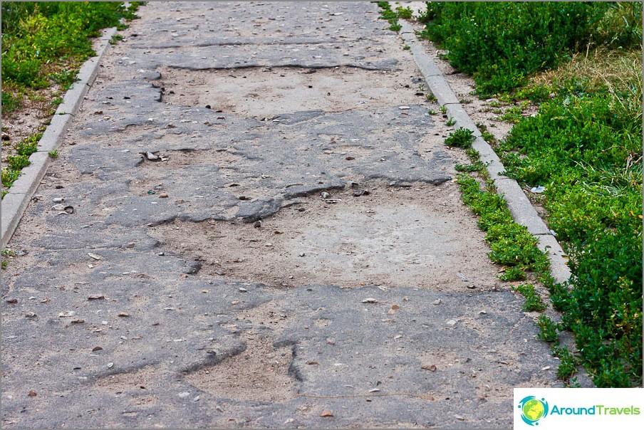 Joskus tällainen asfaltti