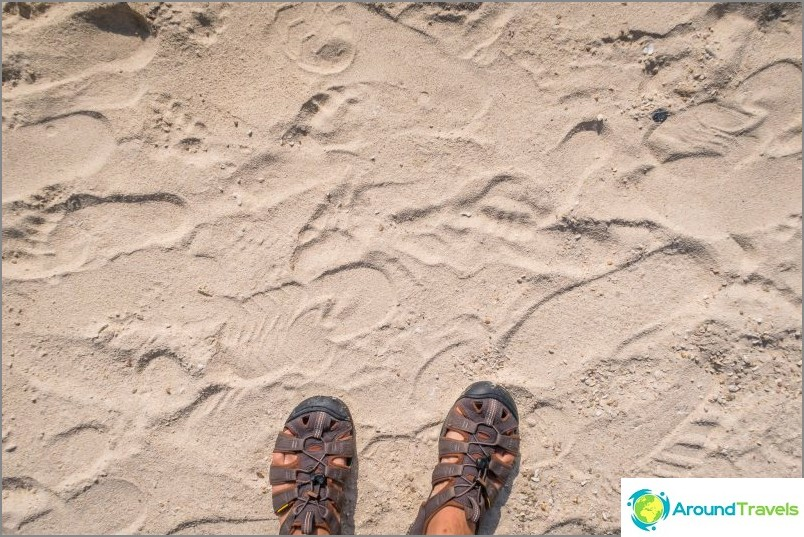 Leelan ranta - hippi paratiisi Koh Phanganissa