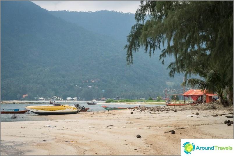 Malibun ranta ja Chaloklumin lahti Phanganilla - kolme yhdessä