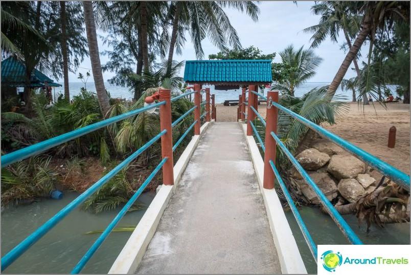 Sillan takana - Mae Haad Beach