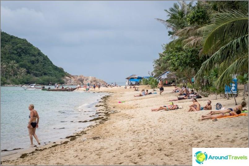 Sadekausi on epämiellyttävä, koska meri heittää jatkuvasti tonnia roskia rannalle