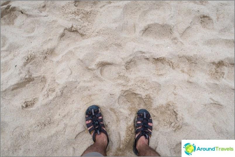 Mae Haad Beach - Phanganin käyntikortti