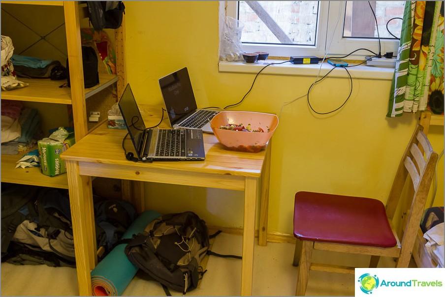 Моята таблица, където плавният преход от Windows към Mac