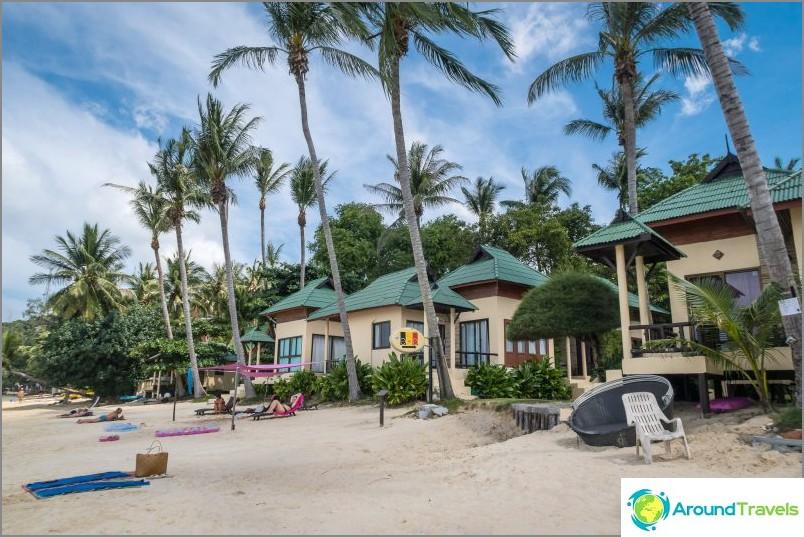 Kohtauksen takana - tyypillisiä ranta-bungaloweja