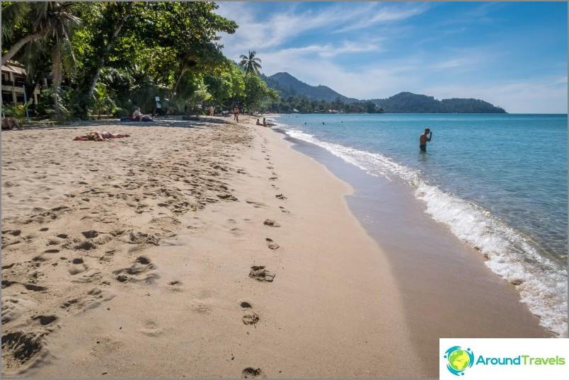 Самотен плаж на Ко Чанг