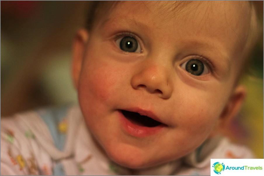 Безумно трудна 2012 година озари Йегор с усмивки