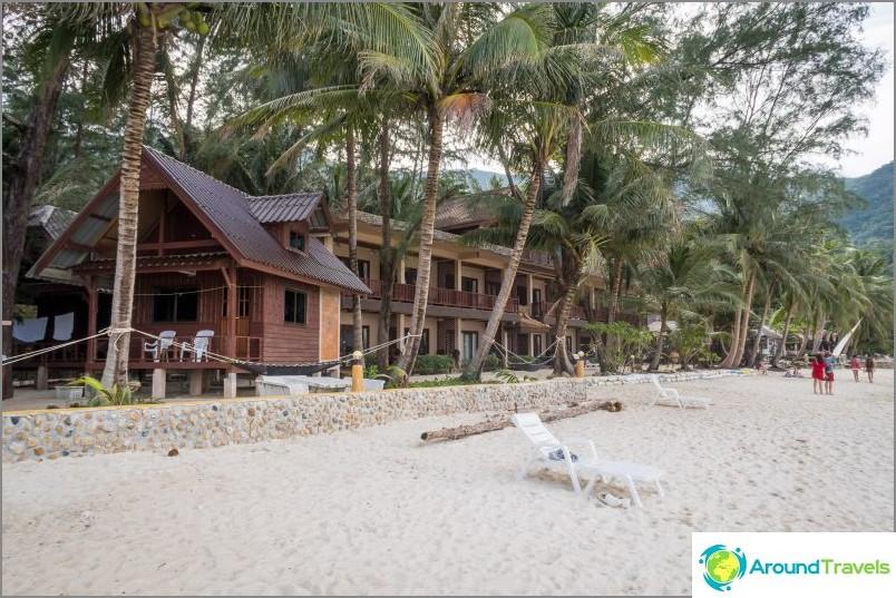 Най-високият хотел на плажа