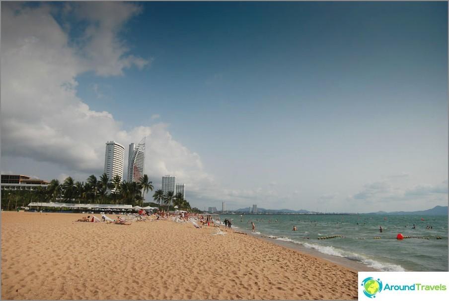 Suurlähettilään ranta - ei varjoa ja tungosta