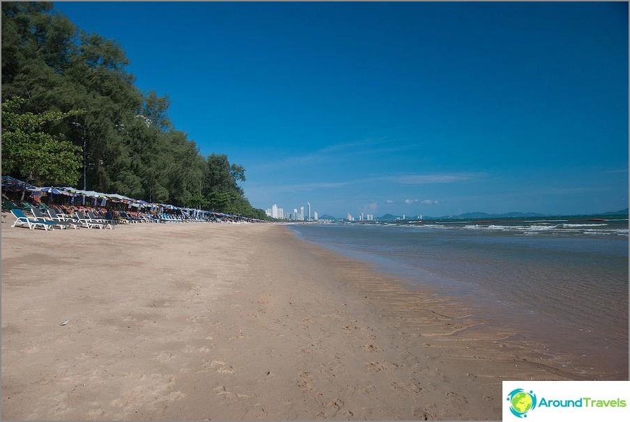 Dongtan con la bassa marea