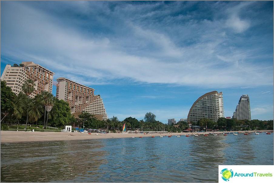 Infrastruktuurisesti kehittynein osa rantaa