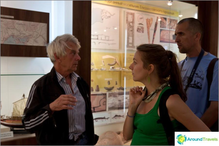 Retki Tanais-museossa