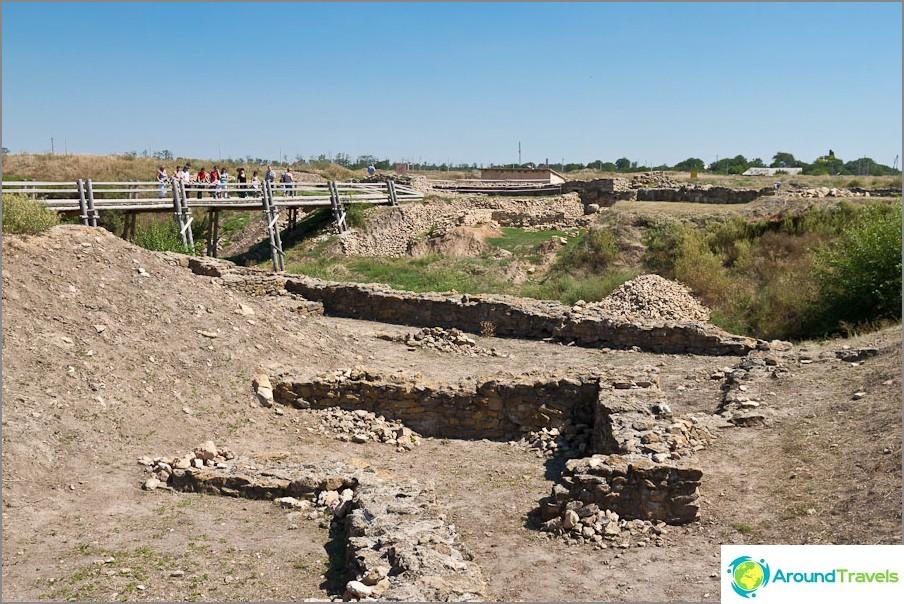 Muinainen kaupunki Tanais