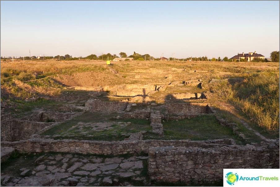 Muinaisen Tanaisin kaupungin rauniot