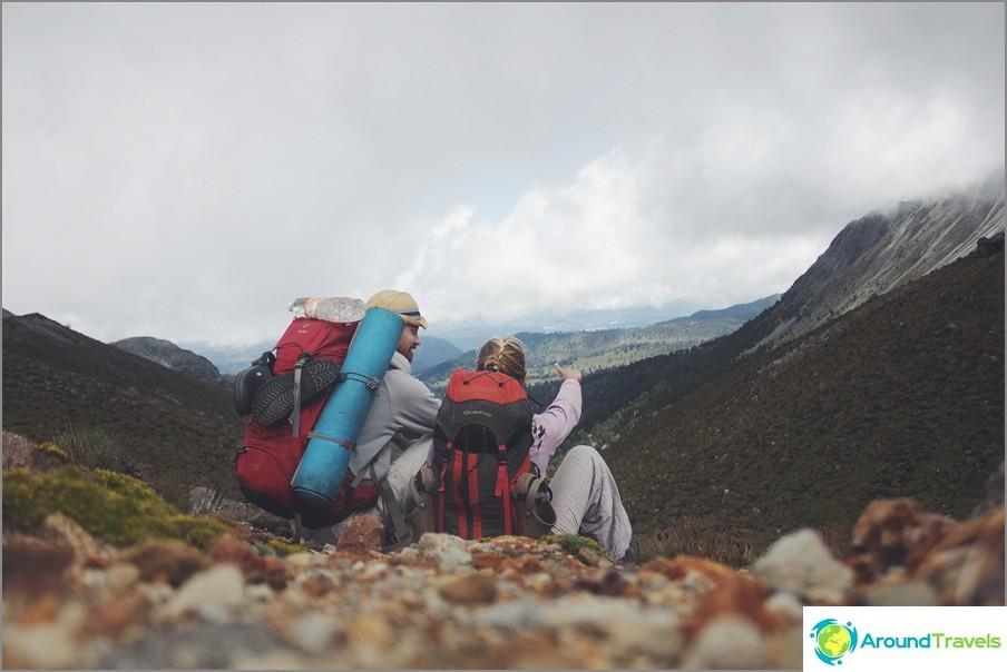 Mene alas Tolucan tulivuorelle, Meksiko