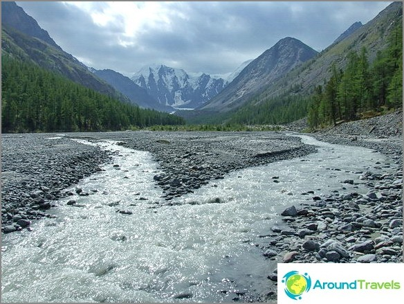 планини на Алтай.
