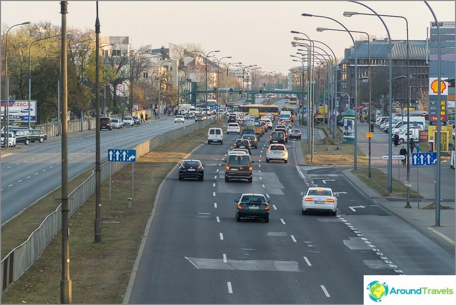 Chernyakovskaya Street, näkymä alueelle