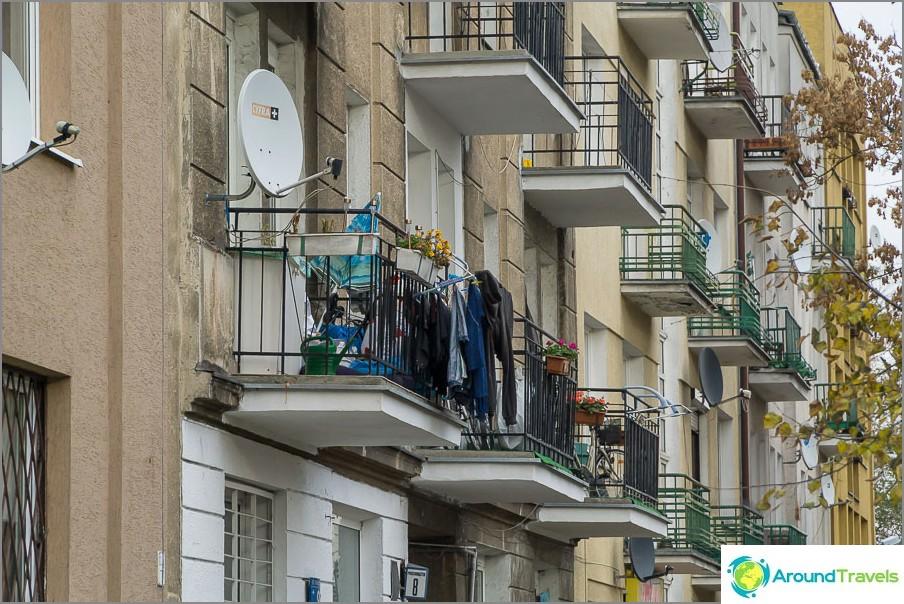 Балкони, както в нашия Хрушчов