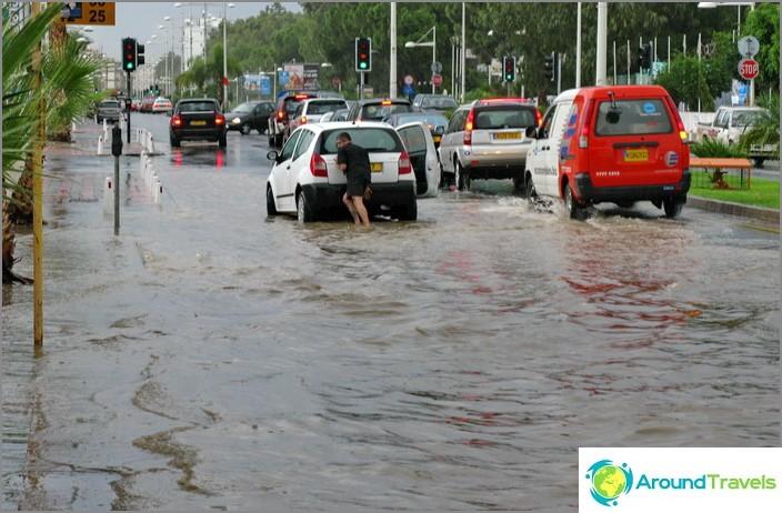 Tulva Kyproksessa