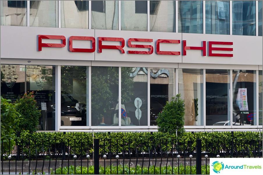 Salonki Porsche
