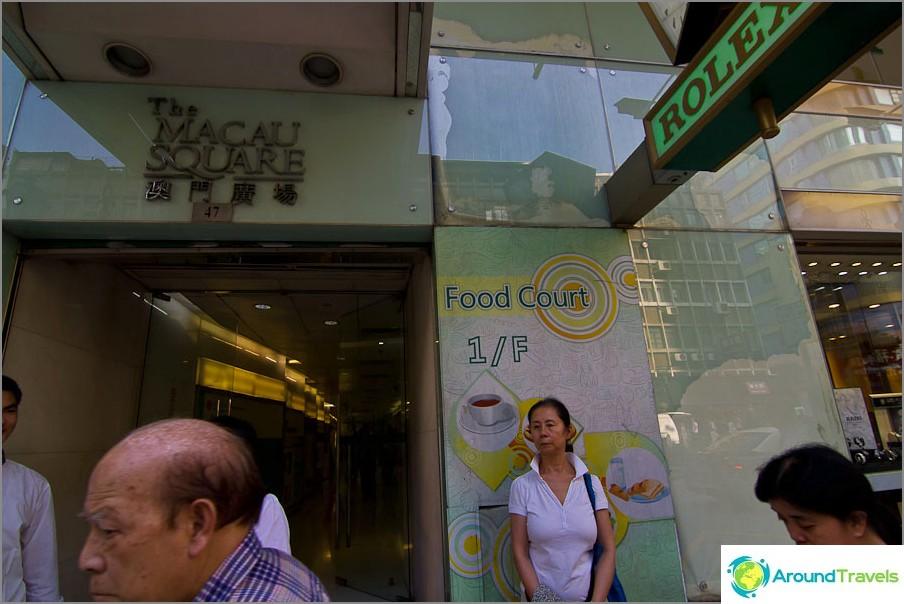 Herkullinen ja kohtuuhintainen ruokakenttä lähellä turistialuetta
