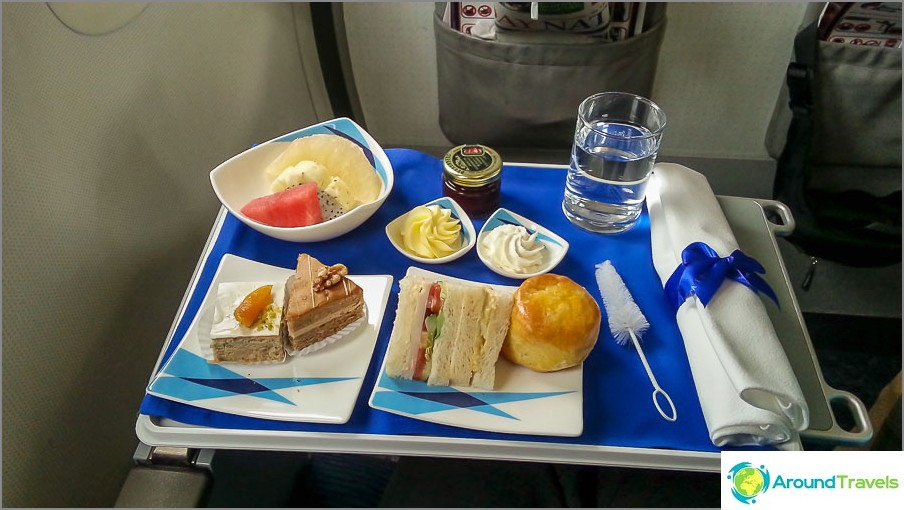 Yritysruoka Bangkok Airways