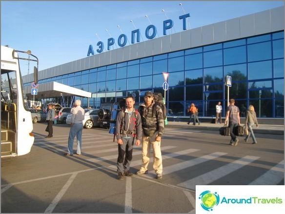 Altai. Barnaul. Lentokenttä.