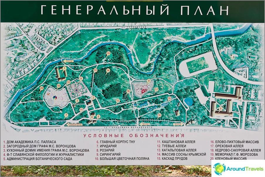 Kartta Salgirka Parkista