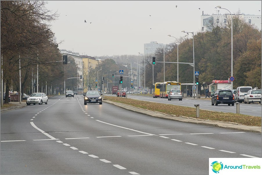Gagarina Street, Varsova