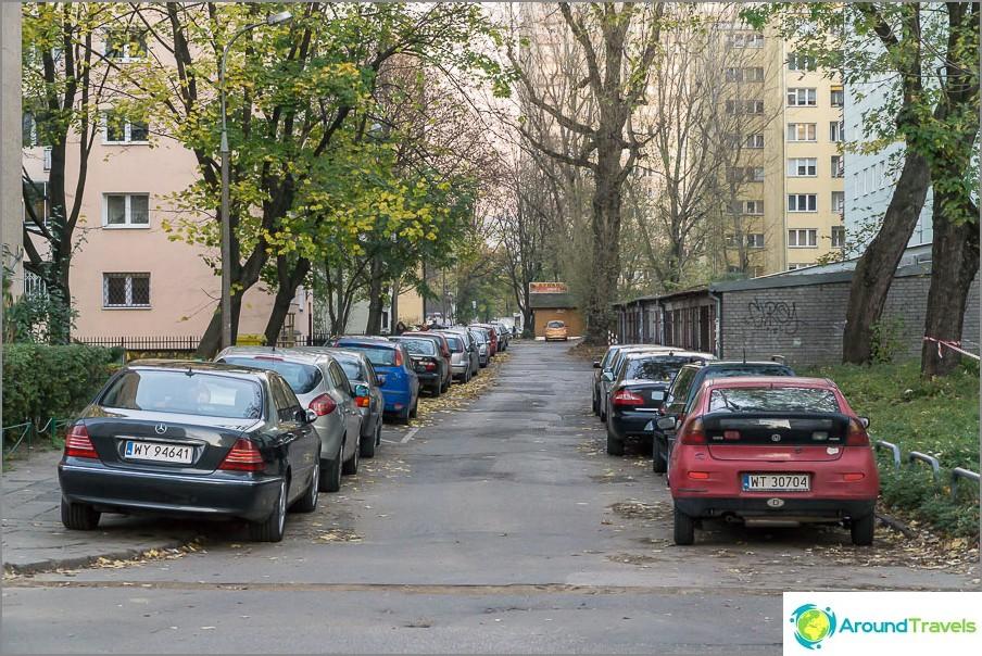 Varsovan pihat alueellamme
