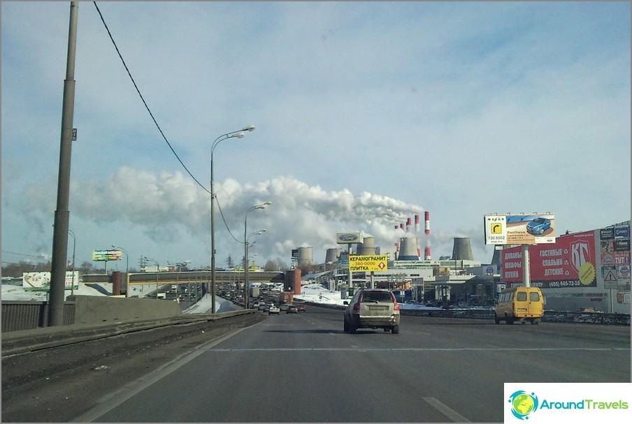 Moskova on ärsyttävä
