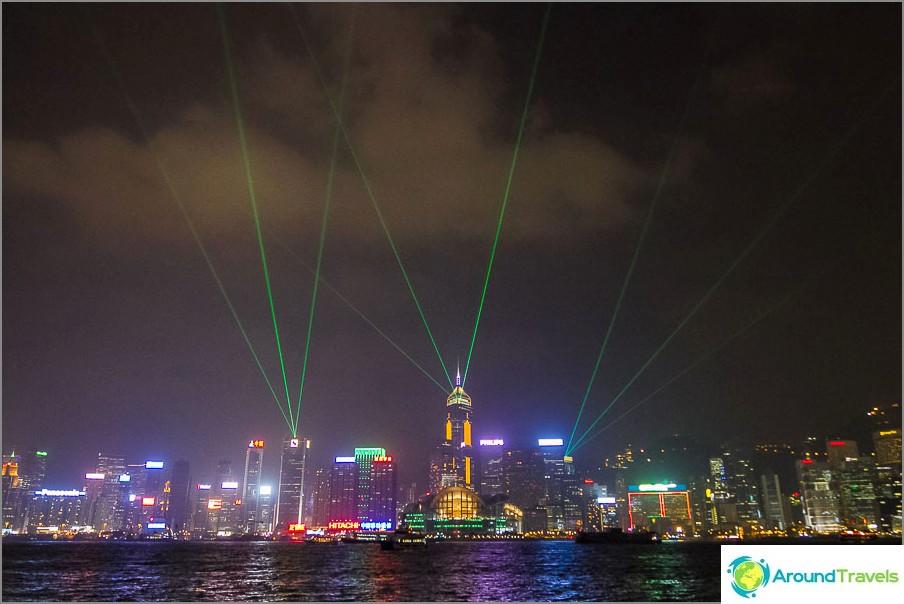 Hongkongin lasernäyttely