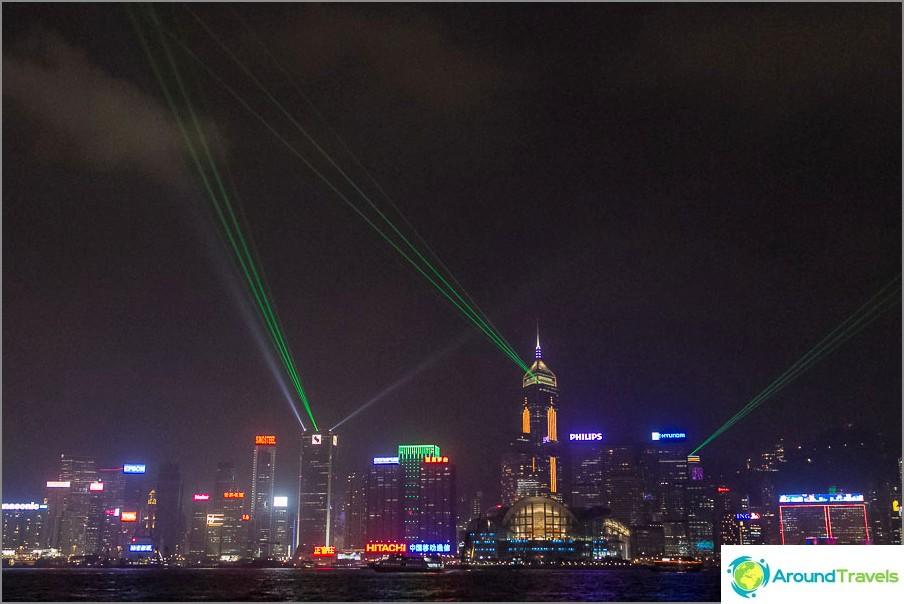 Hongkongin lasernäyttely (2)