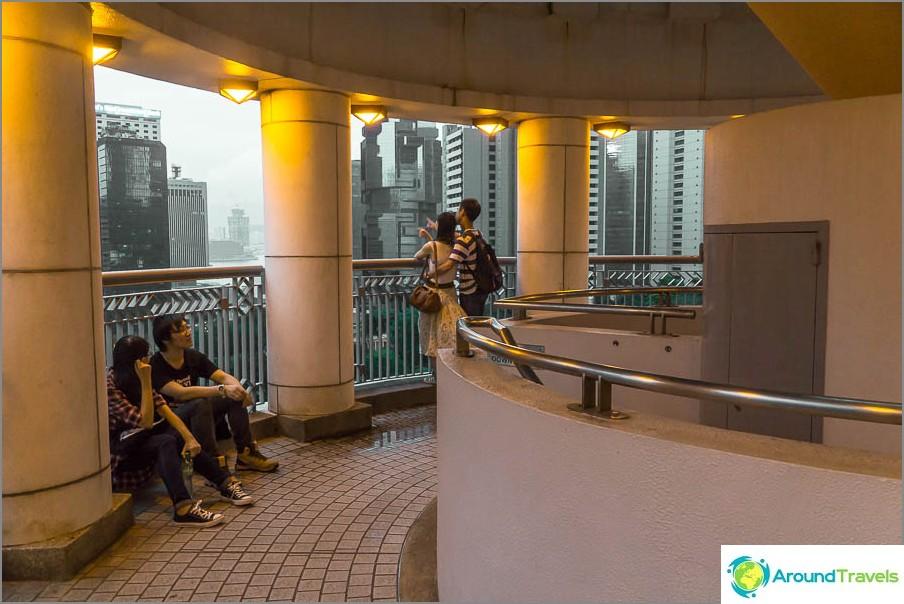 Hongkongin puiston näköalatasanne